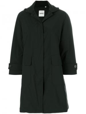 Пальто Fraticello Aspesi. Цвет: чёрный