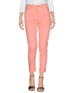 Джинсовые брюки TOMMY JEANS. Цвет: розовый
