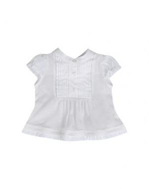 Блузка AMORE. Цвет: белый