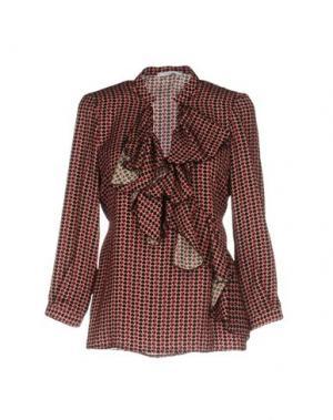 Блузка BIANCOGHIACCIO. Цвет: розовый