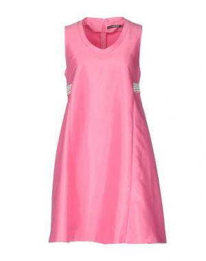 Короткое платье LA CAMICIA BIANCA. Цвет: светло-фиолетовый