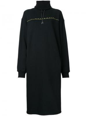Платье-толстовка G.V.G.V.. Цвет: чёрный