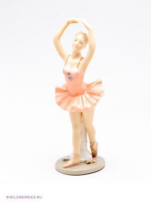 Фигурка Балерина Pavone. Цвет: бежевый, розовый