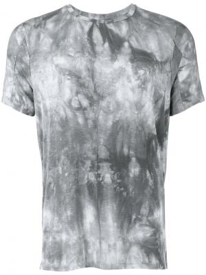 Abstract print T-shirt Tom Rebl. Цвет: серый
