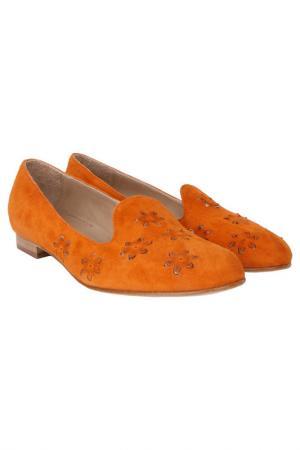 Балетки GIEMME. Цвет: оранжевый