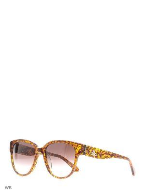 Солнцезащитные очки VW 833S 02 Vivienne Westwood. Цвет: коричневый