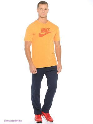 Брюки M NSW PANT OH CLUB JSY Nike. Цвет: синий