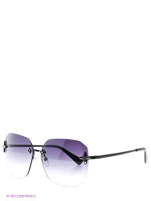Солнцезащитные очки Selena. Цвет: черный, фиолетовый