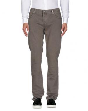 Повседневные брюки TRAMAROSSA. Цвет: серый