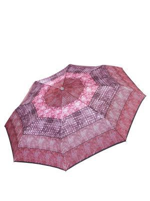 Зонт Fabretti. Цвет: розовый