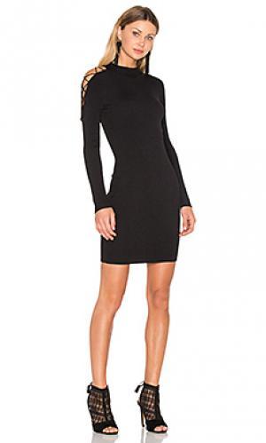 Обтягивающее платье west irving place Central Park. Цвет: черный