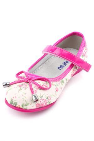 Туфли дошкольные MURSU. Цвет: розовый