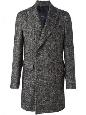 Пальто Delloglio Dell'oglio. Цвет: чёрный