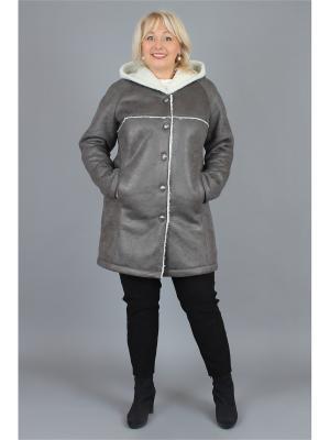 Пальто NadiN. Цвет: серый