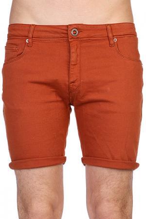 Шорты джинсовые  Chili Chocker Denim Short Copper Volcom. Цвет: коричневый