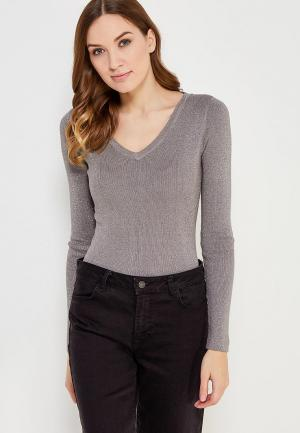 Пуловер Conso Wear. Цвет: серый