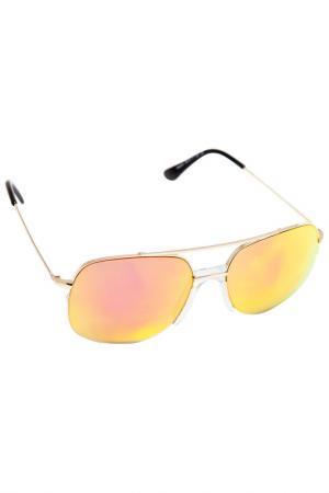 Солнцезащитные очки Kameo Bis. Цвет: оранжевый, золотой
