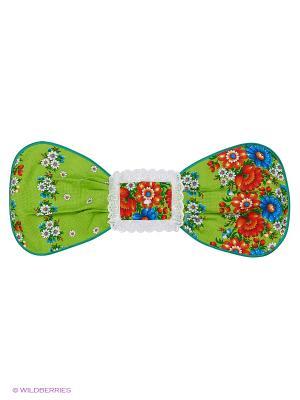 Полотенце Матрешка Метиз. Цвет: зеленый