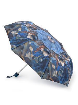 L849-3419 TheUmbrellas (Зонтики,П.Ренуар) Зонт женский механика Fulton, Fulton. Цвет: синий