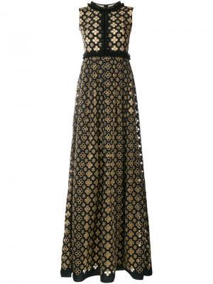 Платье Penelope Huishan Zhang. Цвет: чёрный