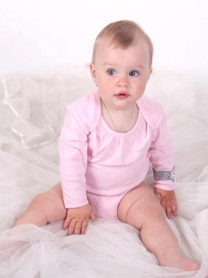 Боди Lucky Child. Цвет: розовый