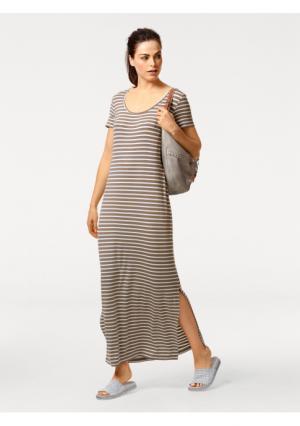 Платье B.C. BEST CONNECTIONS by Heine. Цвет: бежевый/белый, черный/белый