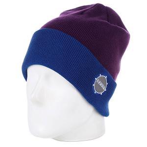 Шапка  Park Beanie Blue/Purple Armour. Цвет: голубой,фиолетовый