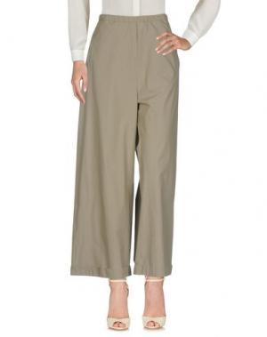Повседневные брюки HUMANOID. Цвет: серый