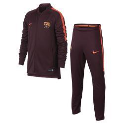 Футбольный костюм для школьников FC Barcelona Dri-FIT Squad Nike. Цвет: пурпурный