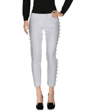 Повседневные брюки MANGANO. Цвет: белый