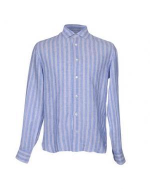 Pубашка DANOLIS. Цвет: лазурный