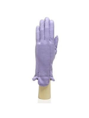 Перчатки Edmins. Цвет: сиреневый