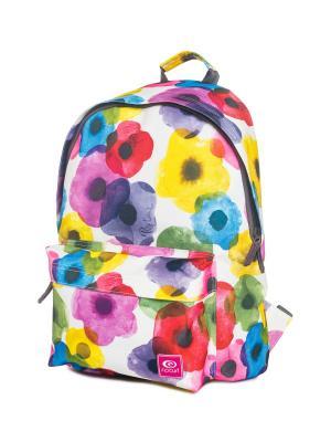 Рюкзак  FLOWER MIX DOME Rip Curl. Цвет: синий, голубой, красный, фуксия, желтый, белый
