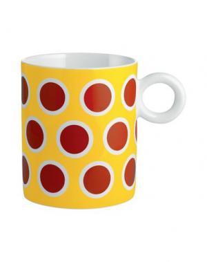 Для чая и кофе ALESSI. Цвет: желтый
