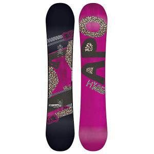 Сноуборд женский  Hype 151 Black/Purple Apo. Цвет: фиолетовый,черный