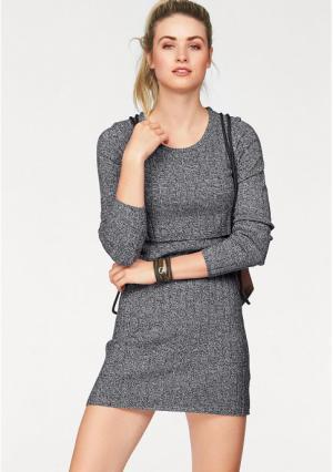 Платье AJC. Цвет: черный/белый