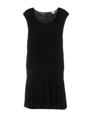 Короткое платье KILLAH. Цвет: черный