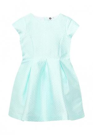 Платье Z Generation. Цвет: бирюзовый
