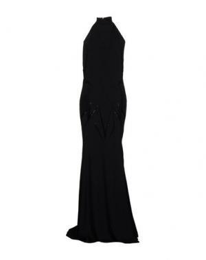 Длинное платье ATELIER SIVIGLIA. Цвет: черный