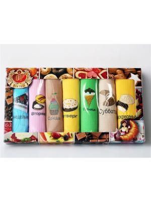 Подарочный набор из 7 вафельных полотенец пирожное неделька. Домтекс. Цвет: антрацитовый, серо-коричневый, индиго, темно-коричневый, сливовый, светло-зеленый, серо-голубой, темно-бордовый, хаки, оливковый, серый, темно-красный, терракотовый, темно-фиолетовый, салатовый, бордовый, коричневый, темно-серый, серо-зеленый, голубой, светло-голубой, серебристый, сиреневый, бронзовый, светло-коричневый, светло-серый, рыжий, лиловый, малиновый, серый меланж, светло-оранжевый, фиолетовый, светло-коралловый, светло-бежевый, темно-бежевый, бежевый, молочный, бледно-розовый, светло-желтый, прозрачный, красный, фуксия, коралловый, оранжевый, розовый, горчичный, золотистый, персиковый, кремовый, желтый, белый, черный, темно-синий, синий, лазурный, зеленый, морская волна, темно-зеленый, бирюзовый