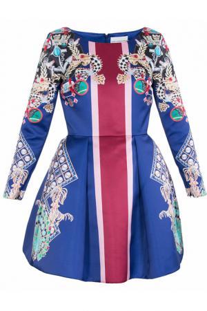 Платье Mary Katrantzou. Цвет: фиолетовый