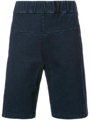 Классические шорты Ag Jeans. Цвет: синий