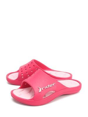 Сабо RIDER. Цвет: розовый