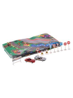Игровой набор для мальчиков Мой город DREAM MAKERS. Цвет: белый