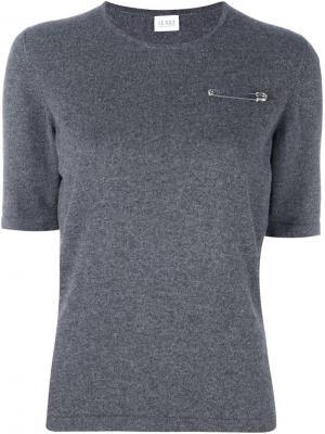 Тонкая футболка Le Kilt. Цвет: серый