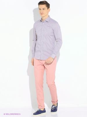 Брюки Sisley. Цвет: розовый