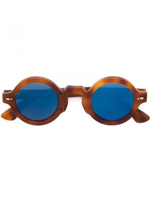 Солнцезащитные очки Movitra. Цвет: телесный