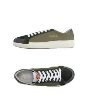 Низкие кеды и кроссовки PANTOFOLA D'ORO. Цвет: темно-зеленый
