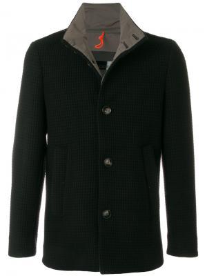 Пальто крупной вязки Rrd. Цвет: синий