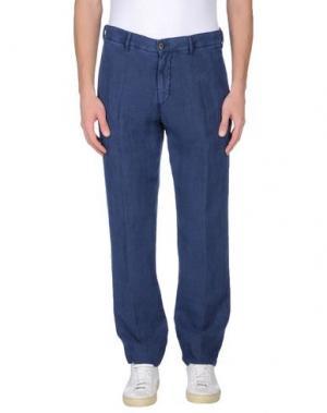 Повседневные брюки J.W. BRINE. Цвет: синий